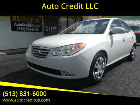 2010 Hyundai Elantra for sale at Auto Credit LLC in Milford OH