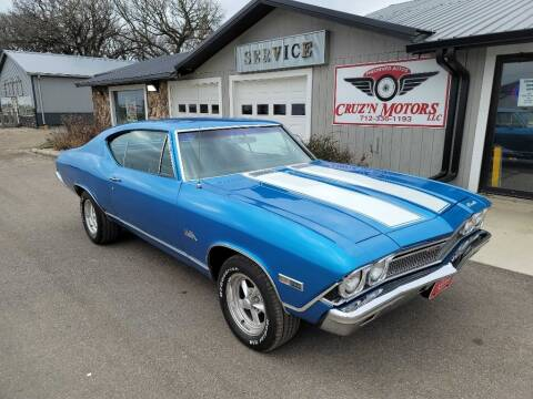 1968 Chevrolet Chevelle Malibu for sale at CRUZ'N MOTORS - Classics in Spirit Lake IA