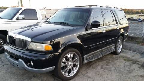 2000 Lincoln Navigator for sale at DREWS AUTO SALES INTERNATIONAL BROKERAGE in Atlanta GA