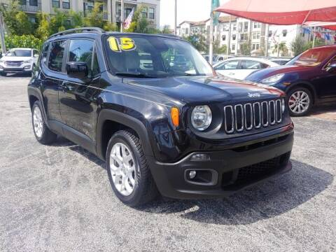 2015 Jeep Renegade for sale at Brascar Auto Sales in Pompano Beach FL