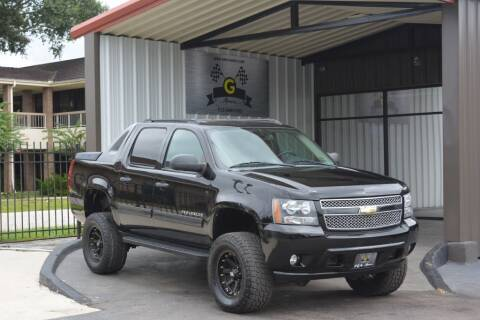 2010 Chevrolet Avalanche for sale at G MOTORS in Houston TX