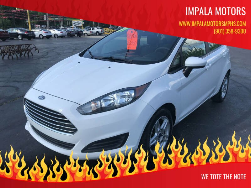2017 Ford Fiesta for sale at IMPALA MOTORS in Memphis TN