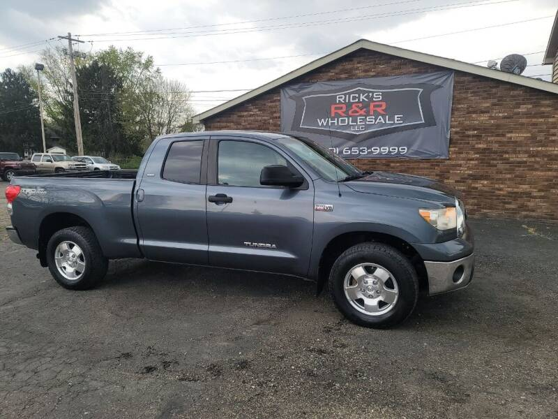 2008 Toyota Tundra for sale at Rick's R & R Wholesale, LLC in Lancaster OH