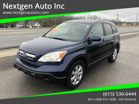 2009 Honda CR-V for sale at Nextgen Auto Inc in Smithville TN