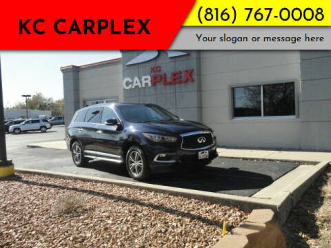 2016 Infiniti QX60 for sale at KC Carplex in Grandview MO