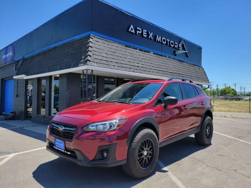 2018 Subaru Crosstrek for sale at Apex Motors in Murray UT