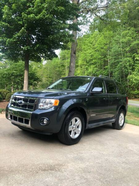 2008 Ford Escape Hybrid for sale at Judy's Cars in Lenoir NC