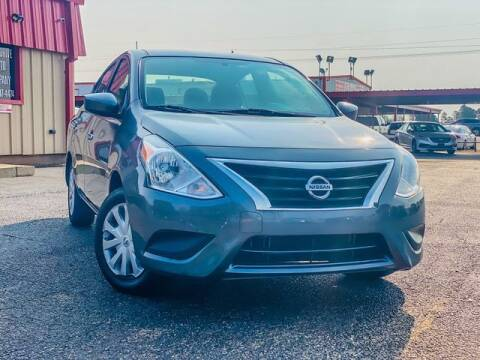 2018 Nissan Versa for sale at MAGNA CUM LAUDE AUTO COMPANY in Lubbock TX