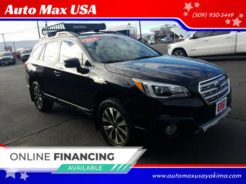 2016 Subaru Outback for sale at Auto Max USA in Yakima WA