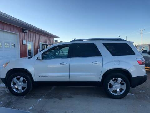 2007 GMC Acadia for sale at TnT Auto Plex in Platte SD