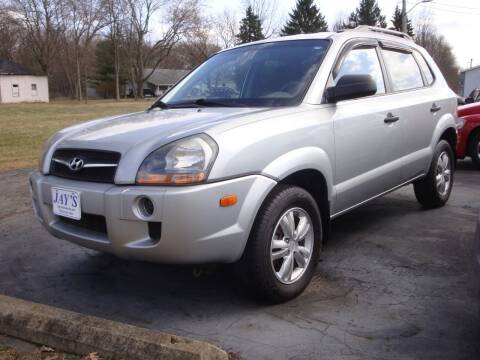 2009 Hyundai Tucson for sale at Jay's Auto Sales Inc in Wadsworth OH