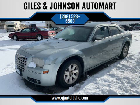 2006 Chrysler 300 for sale at GILES & JOHNSON AUTOMART in Idaho Falls ID