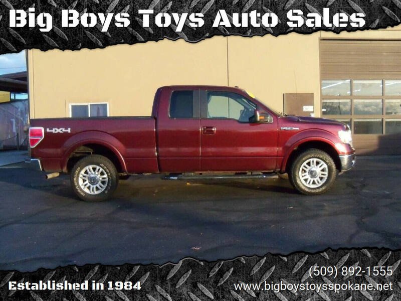 2009 Ford F-150 for sale at Big Boys Toys Auto Sales in Spokane Valley WA