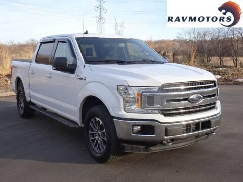 2019 Ford F-150 for sale at RAVMOTORS in Burnsville MN