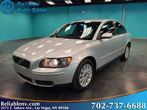 2005 Volvo S40 for sale at Reliable Auto Sales in Las Vegas NV