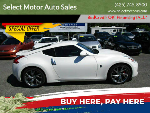 2013 Nissan 370Z for sale at Select Motor Auto Sales in Lynnwood WA