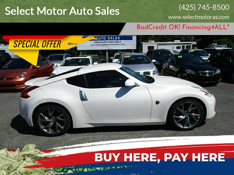 2013 Nissan 370Z for sale in Lynnwood, WA