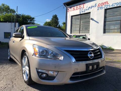 2015 Nissan Altima for sale at Street Visions in Telford PA