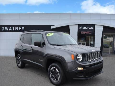 2018 Jeep Renegade for sale at DeAndre Sells Cars in North Little Rock AR