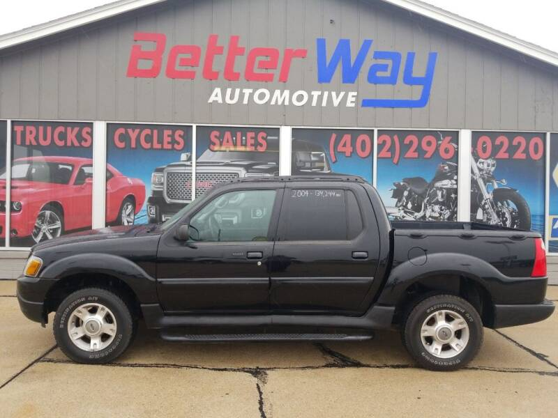2004 Ford Explorer Sport Trac for sale at Betterway Automotive Inc in Plattsmouth NE