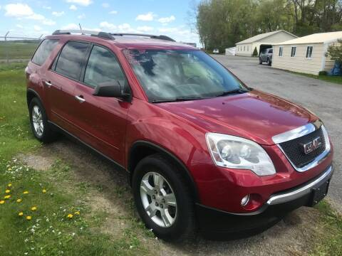 2012 GMC Acadia for sale at RJD Enterprize Auto Sales in Scotia NY