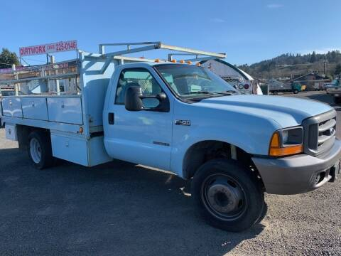 1999 Ford F-450 for sale at DirtWorx Equipment - Trucks in Woodland WA