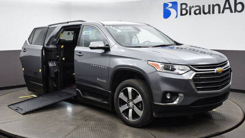 2020 Chevrolet Traverse for sale at A&J Mobility in Valders WI