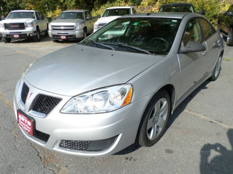 2010 Pontiac G6 for sale at AUTO CONNECTION LLC in Springfield VT