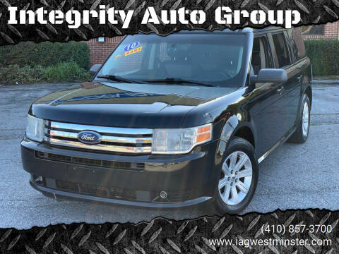2010 Ford Flex for sale at Integrity Auto Group in Westminister MD
