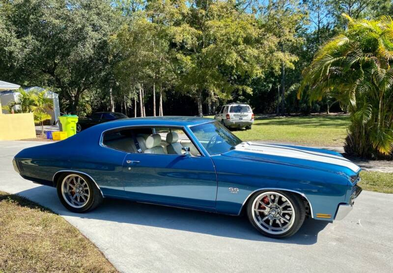 1970 Chevrolet Chevelle for sale at Suncoast Sports Cars and Exotics in West Palm Beach FL