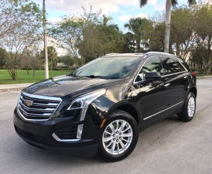 2017 Cadillac XT5 for sale at FIRST FLORIDA MOTOR SPORTS in Pompano Beach FL