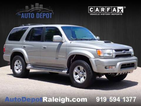 2002 Toyota 4Runner for sale at The Auto Depot in Raleigh NC