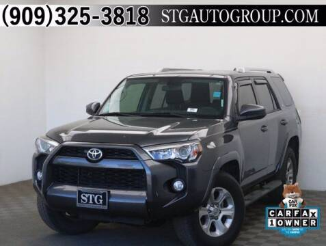 2017 Toyota 4Runner for sale at STG Auto Group in Montclair CA