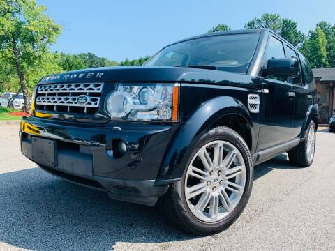 2012 Land Rover LR4 for sale at Classic Luxury Motors in Buford GA