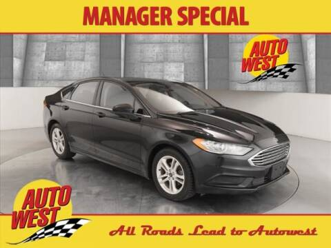2018 Ford Fusion for sale at Autowest of GR in Grand Rapids MI