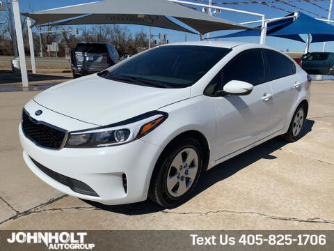 2018 Kia Forte for sale at JOHN HOLT AUTO GROUP, INC. in Chickasha OK