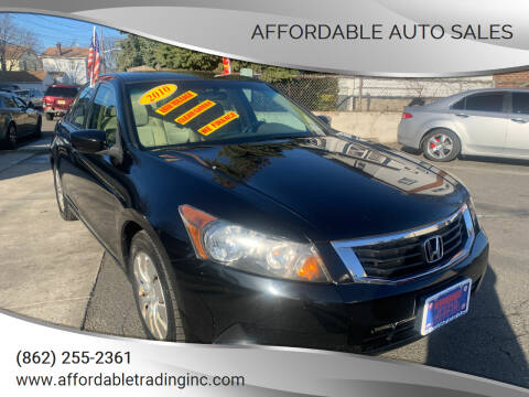 2010 Honda Accord for sale at Affordable Auto Sales in Irvington NJ