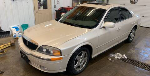 2000 Lincoln LS for sale at Next Generation Auto Sales in Baldwin WI