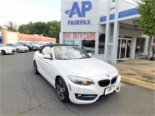 2017 BMW 2 Series for sale at AP Fairfax in Fairfax VA