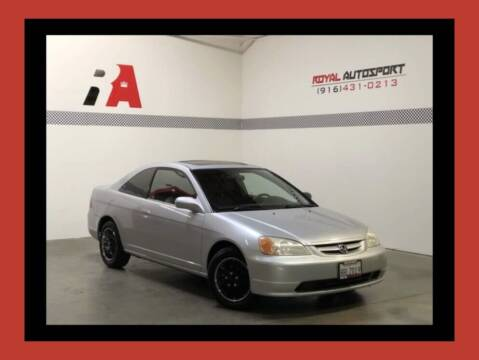 2002 Honda Civic for sale at Royal AutoSport in Sacramento CA