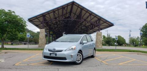 2012 Toyota Prius v for sale at D&C Motor Company LLC in Merriam KS