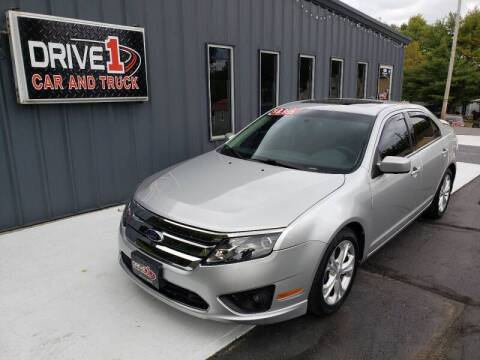 2012 Ford Fusion for sale at Drive 1 Car & Truck in Springfield OH