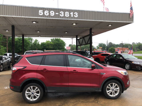 2018 Ford Escape for sale at BOB SMITH AUTO SALES in Mineola TX