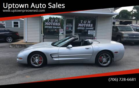 1998 Chevrolet Corvette for sale at Uptown Auto Sales in Rome GA