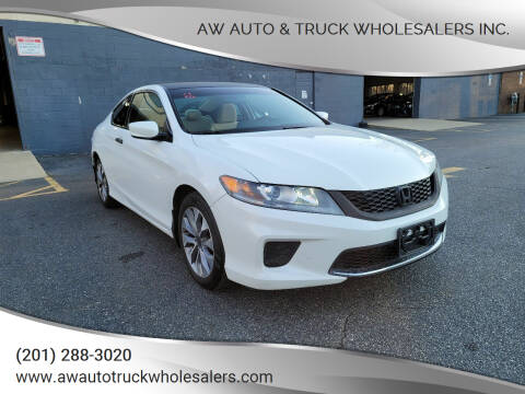 2013 Honda Accord for sale at AW Auto & Truck Wholesalers  Inc. in Hasbrouck Heights NJ