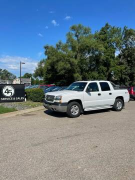 2004 Chevrolet Avalanche for sale at Station 45 Auto Sales Inc in Allendale MI