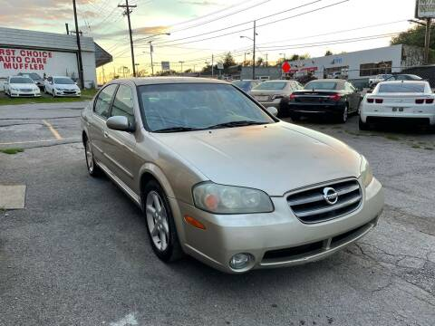 2003 Nissan Maxima for sale at Green Ride Inc in Nashville TN