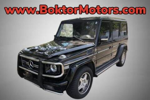 2005 Mercedes-Benz G-Class for sale at Boktor Motors in North Hollywood CA