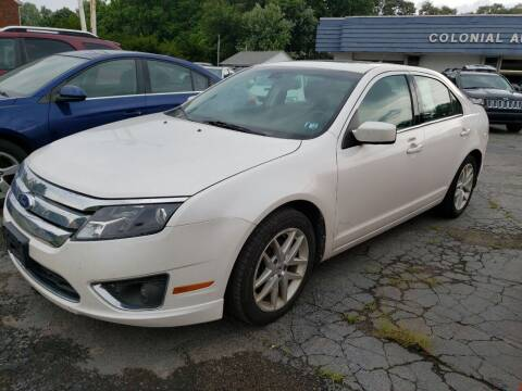 2011 Ford Fusion for sale at COLONIAL AUTO SALES in North Lima OH