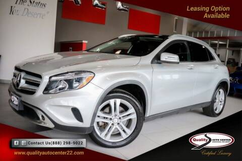 2015 Mercedes-Benz GLA for sale at Quality Auto Center of Springfield in Springfield NJ